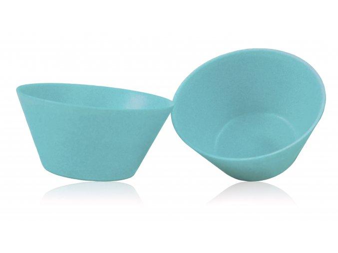 PB562:1 Bambusová miska velká 2 ks Modrá
