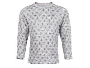 CeLaVi   tričko  z merino vlny dl.rukáv -šedá