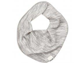 CeLaVi  nákrčník z Merino vlny -šedá