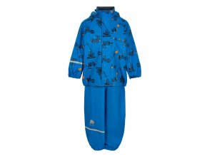 CeLaVi – kalhoty a bunda do deště – AUTA – Modrá
