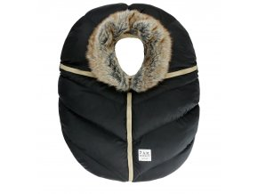7AM ENFANT CAR SEAT COCOON fur BLACK MAIN 1