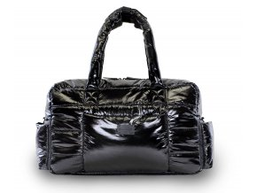 7AM VOYAGE SOHO SATCHEL BLACK POLAR 1