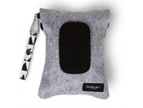 SG.160  Simply good obal na vlhčené ubrousky šedá