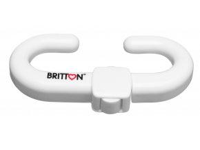 B1805 BRITTON zámek na dvířka s úchytkami