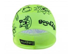 GOOD2GO Funkční čepice Dolomity žlutá