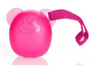 13.0020:2  DIAGO sterilizační obal na dudlik Pink