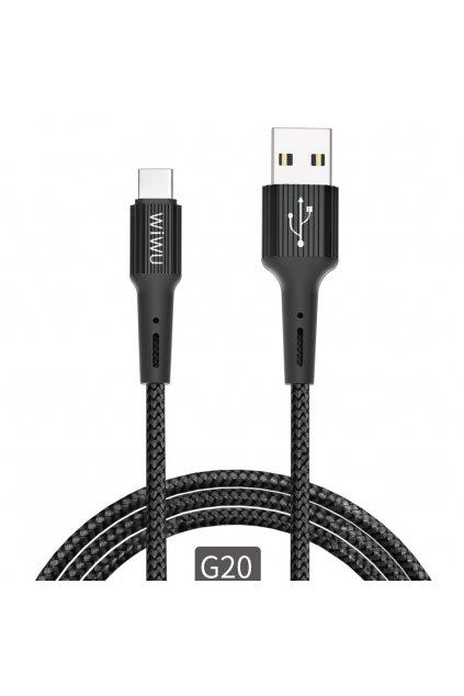 WiWU Nabíjecí kabel USB / USB-C Gear G20
