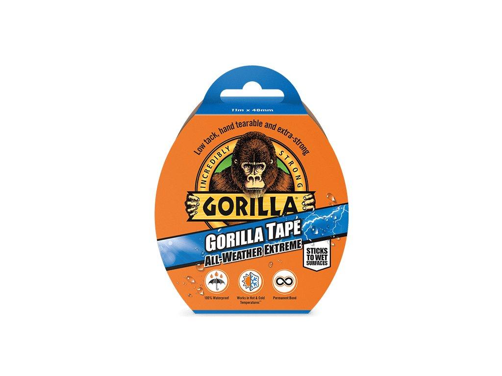Gorilla Tape All-Weather Extreme 48mm x 11m, lepící páska černá