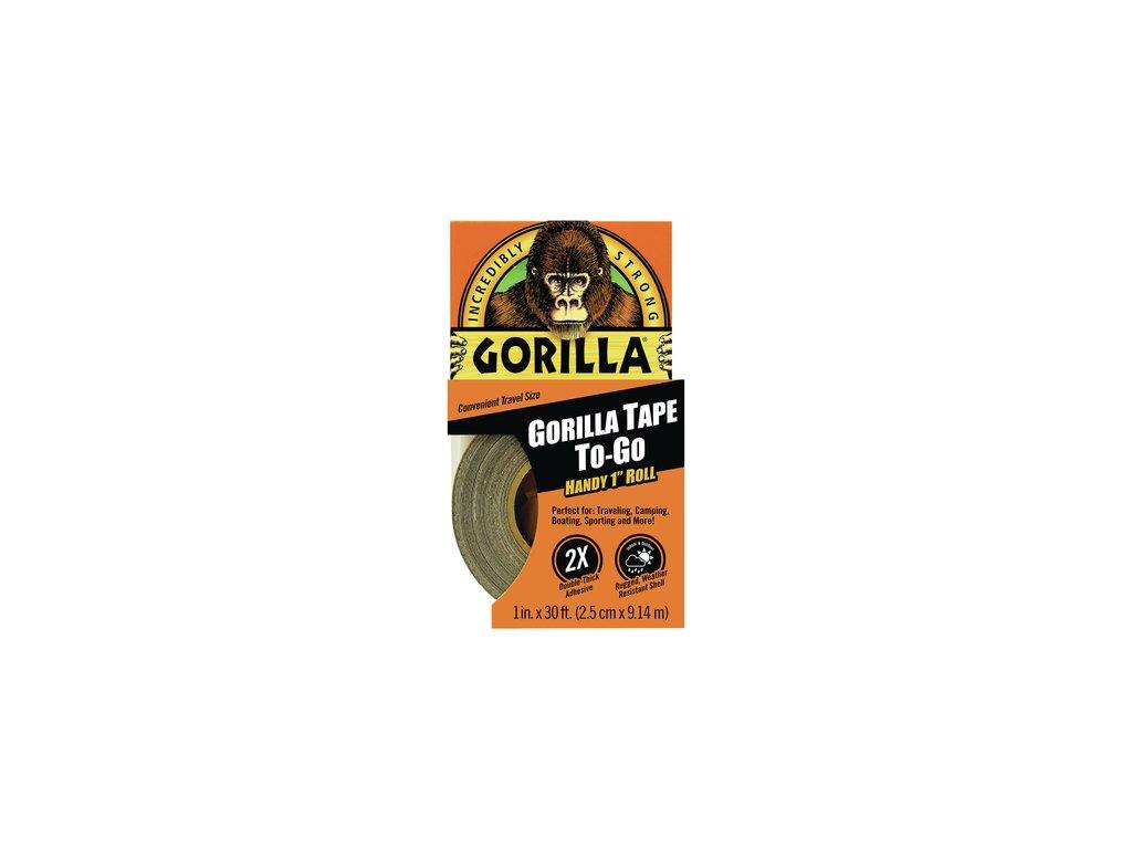 Gorilla Tape Handy Roll 25mm x 9,14m, lepicí páska černá