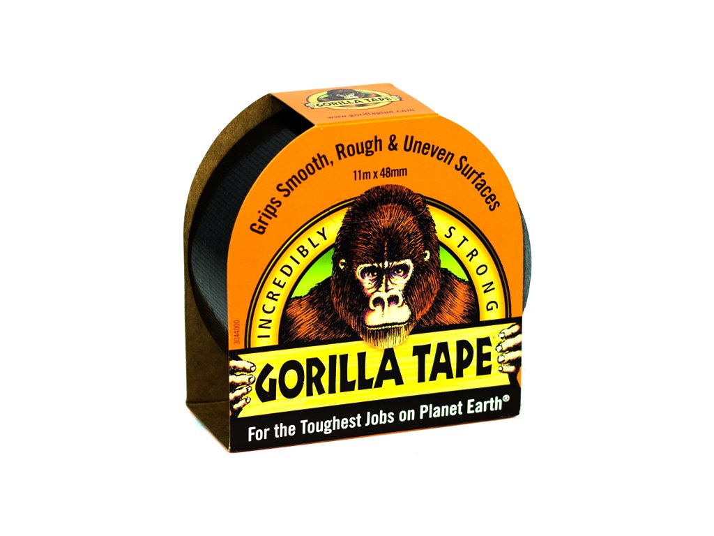Gorilla Tape 48mm x 11m, lepicí páska černá