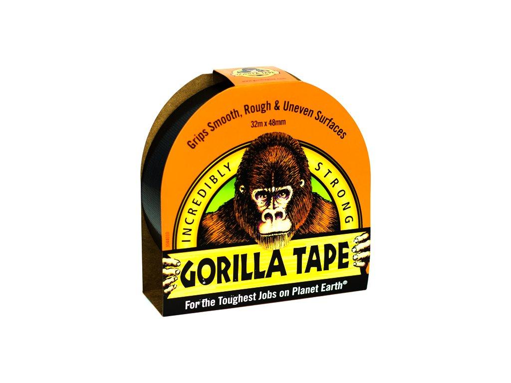 Gorilla Tape 48mm x 32m, lepicí páska černá
