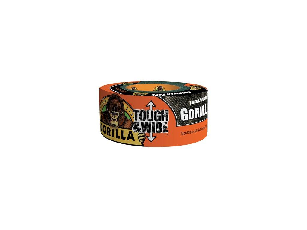 Gorilla Tape Tough & Wide 73mm x 27m, lepicí páska černá