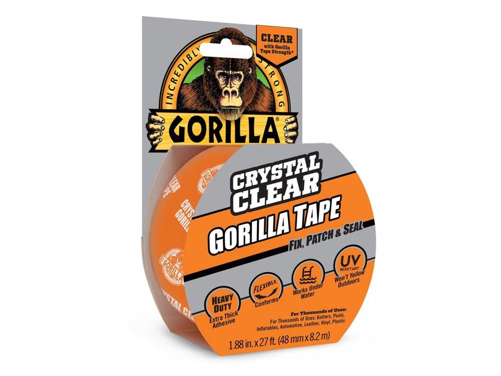 Gorilla Clear Repair Tape 48mm x 8,2m lepicí páska průhledná