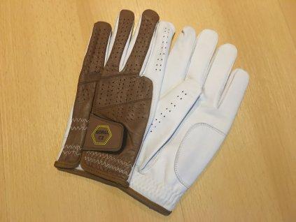 Kožená pánská golfová rukavice na levou ruku