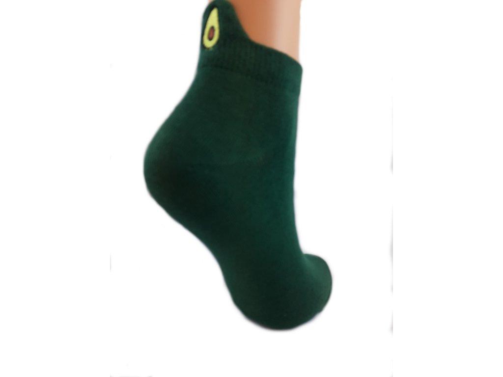 Ponožky nízké avokado
