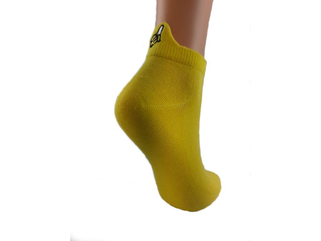 Ponožky nízké banán
