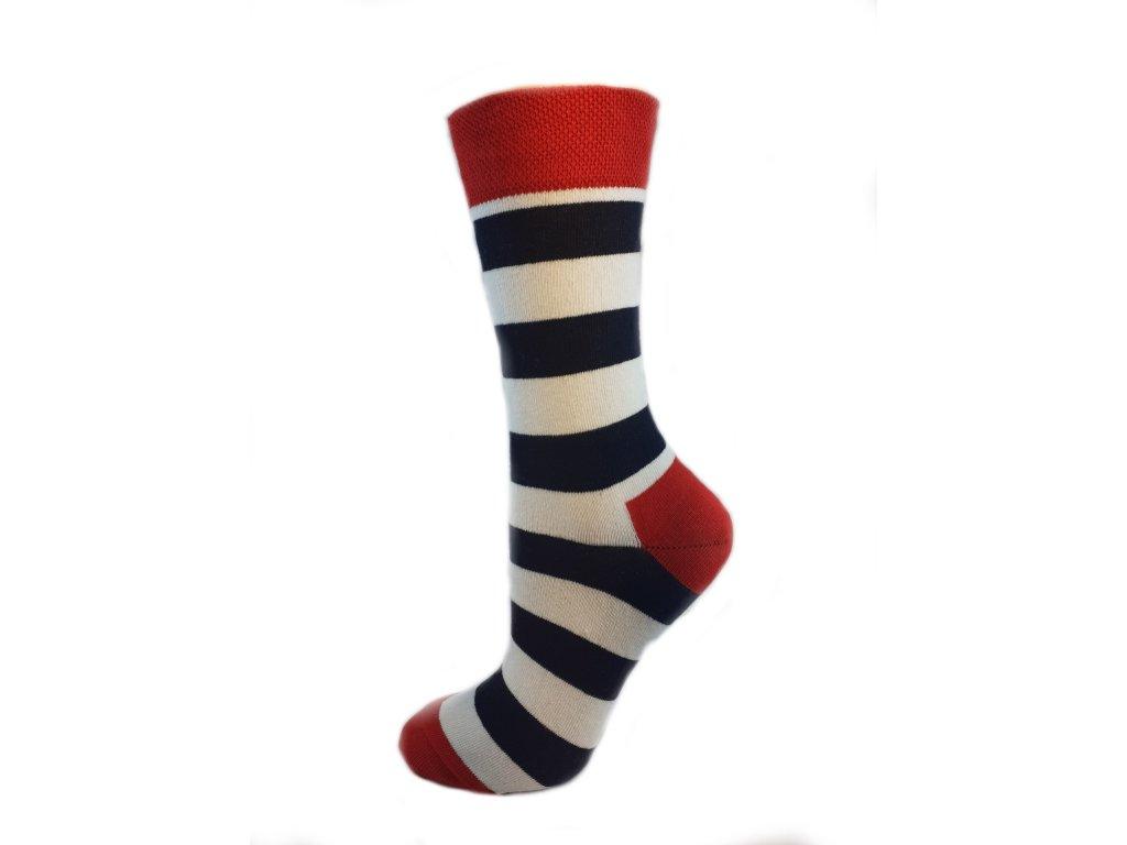 ponožky pruh