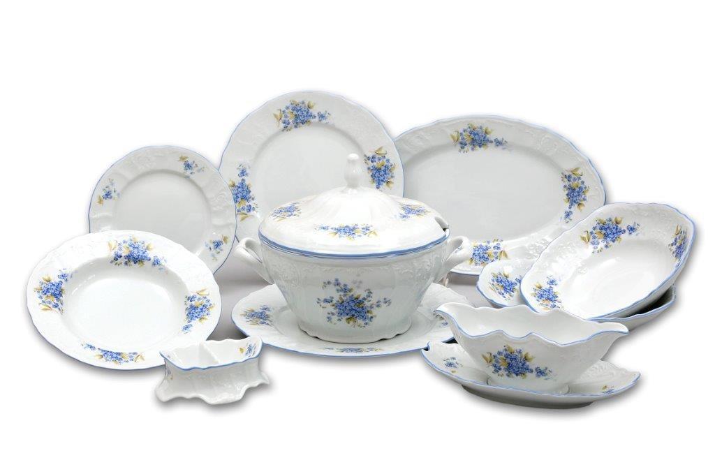porcelán pomněnka