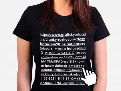 Dámské tričko Klikařka