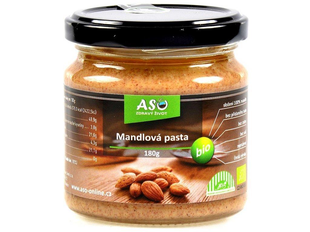 1225 mandlova pasta bio 180g