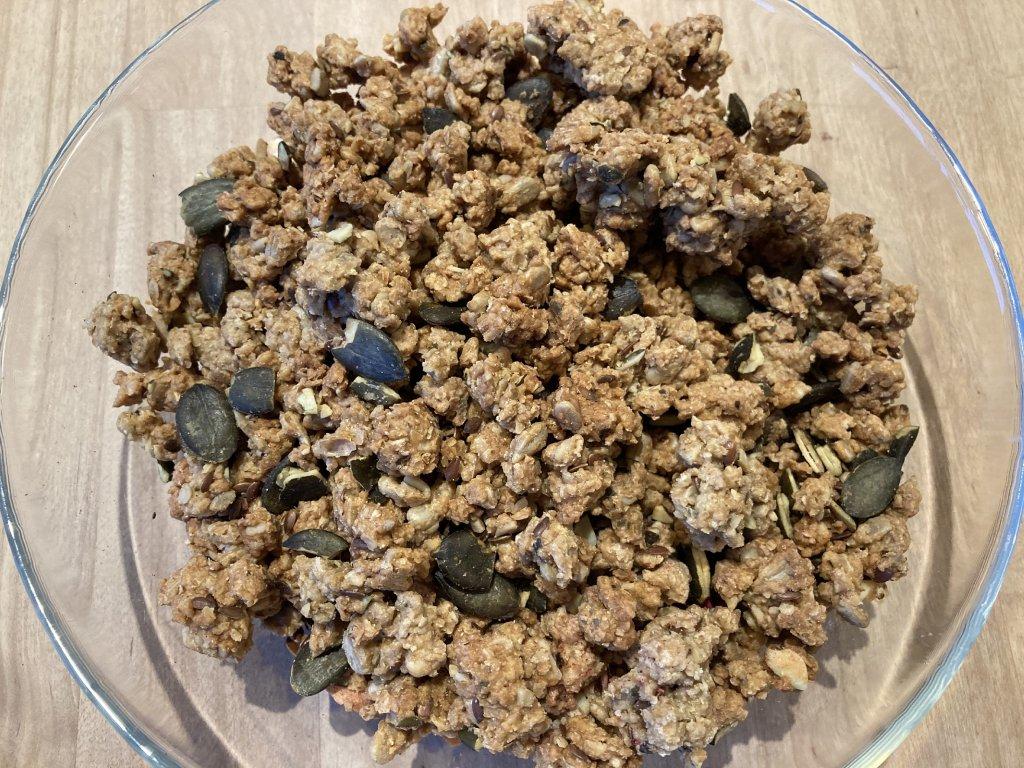 granola semínkový