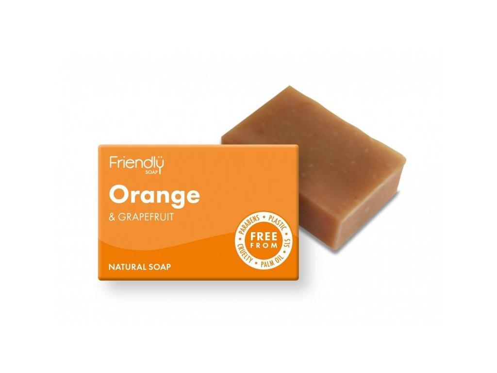 friendly soap orange