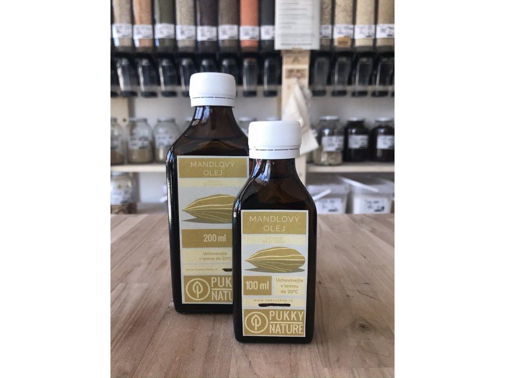 Mandlový olej 100 ml (záloha 10 Kč)