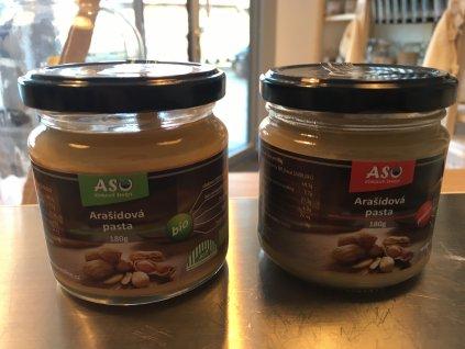 ASO arašídová pasta s karobem