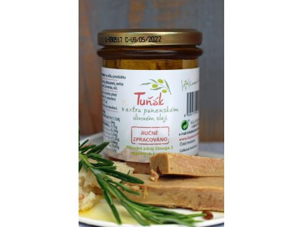 Tuňák v extra panenském olivovém oleji