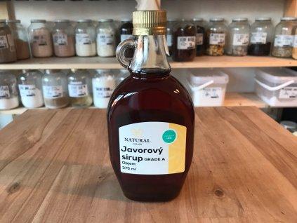 Javorový sirup Natural 375 ml