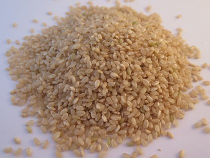 Rýže kulatozrnná natural (B)