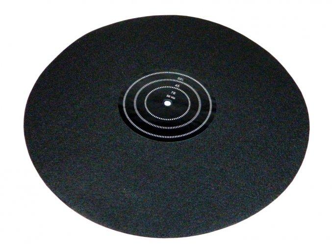 Gramo filcova podlozka pod gramofonovou desku Analogis 6077 a55725442 10699