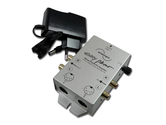Gramo předzesilovač pro gramofony EASY PHONO 6147 ANALOGIS TM