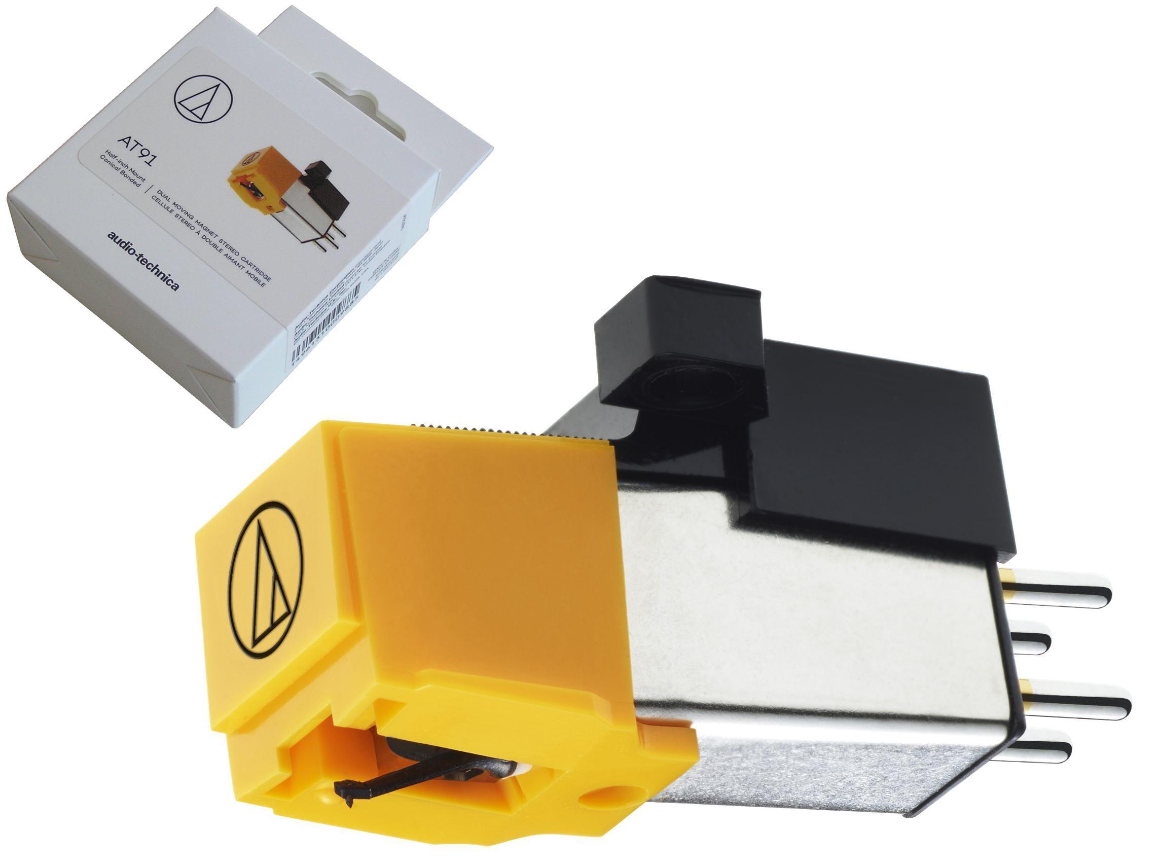 AUDIOTECHNICA Gramofonová přenoska Audio Technica AT-91BL / AT91BL