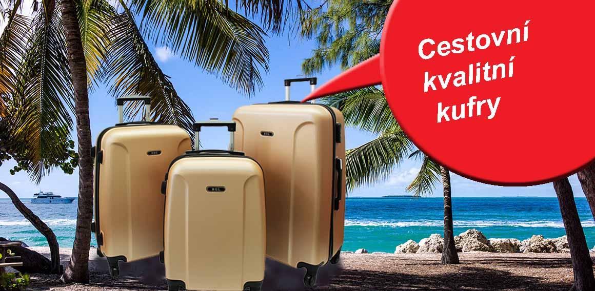 Cestovní skořepinové kufry na kolečkách