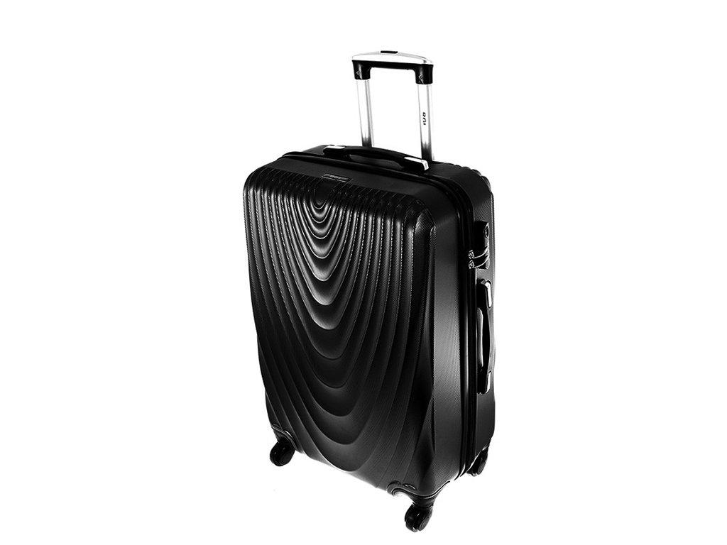 cestovni kufr na koleckach 663 cerny stredni