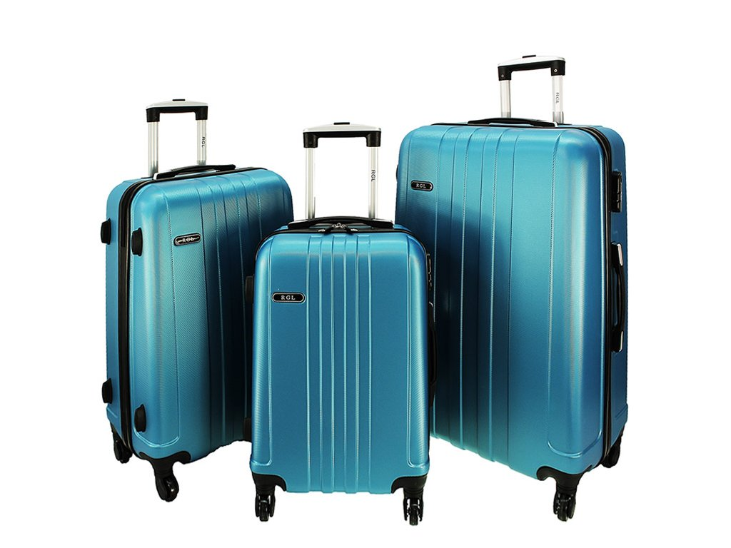 cestovni skorepinovy kufr na koleckach sada 3 ks 740 3 metalicky modry