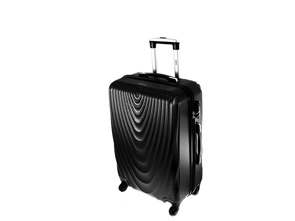 cestovni kufr na koleckach 663 cerny palubni maly
