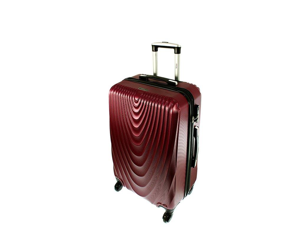 cestovni kufr na koleckach 663 ruzova maly