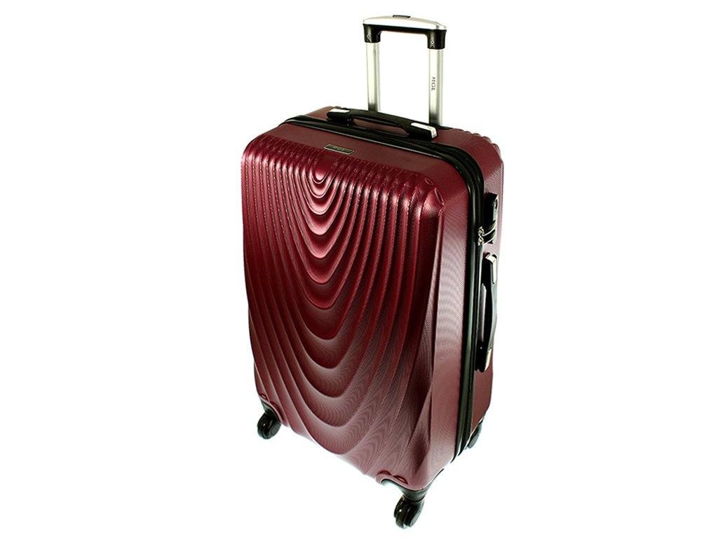 cestovni kufr na koleckach 663 ruzova velky