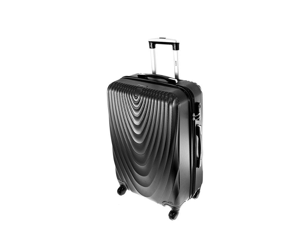 cestovni kufr na koleckach 663 tmave sedy maly