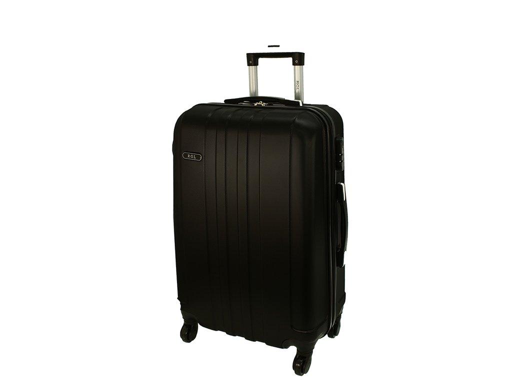 cestovni skorepinovy kufr na koleckach 740 3 cerny stredni