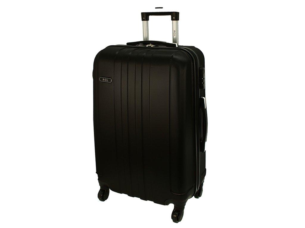 cestovni skorepinovy kufr na koleckach 740 3 cerny velky
