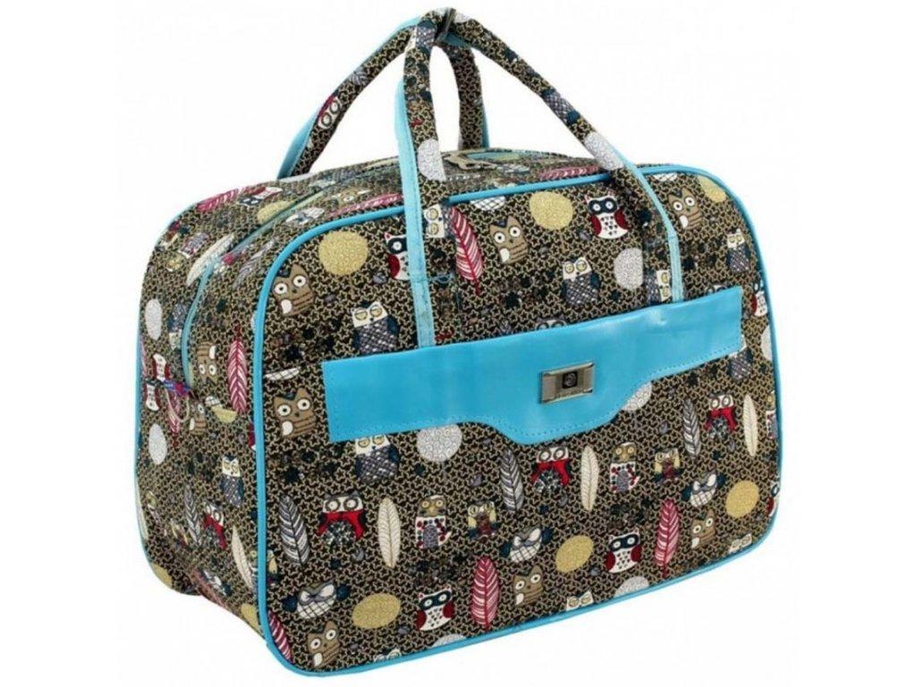 cestovni palubni zavazadlo do letadla WIZZAIR Ryanair 40x30x20 cm vzor 11