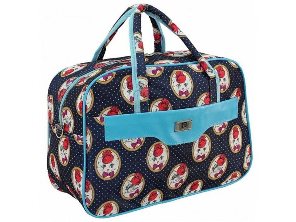 cestovni palubni zavazadlo do letadla WIZZAIR Ryanair 40x30x20 cm vzor 13
