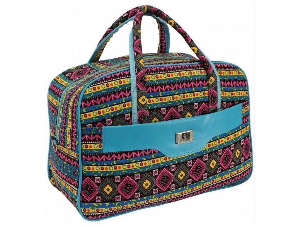 cestovni palubni zavazadlo do letadla WIZZAIR Ryanair 40x30x20 cm vzor 24