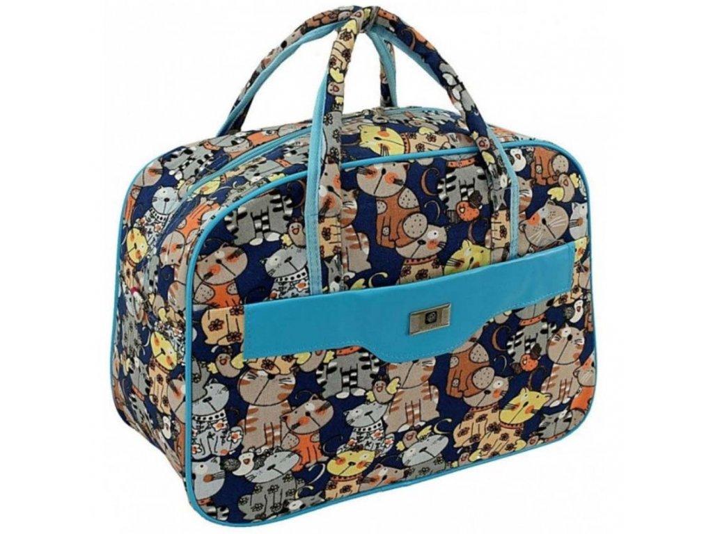 cestovni palubni zavazadlo do letadla WIZZAIR Ryanair 40x30x20 cm vzor CH2