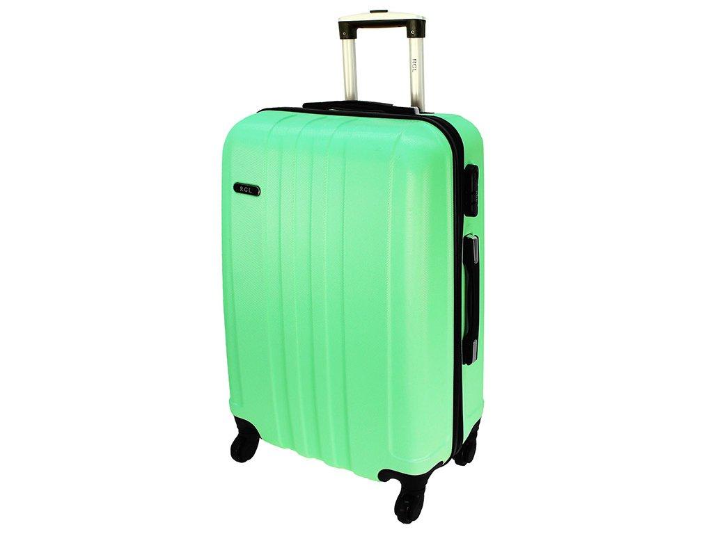 cestovni kufr na koleckach 740 3 svetle zeleny velky