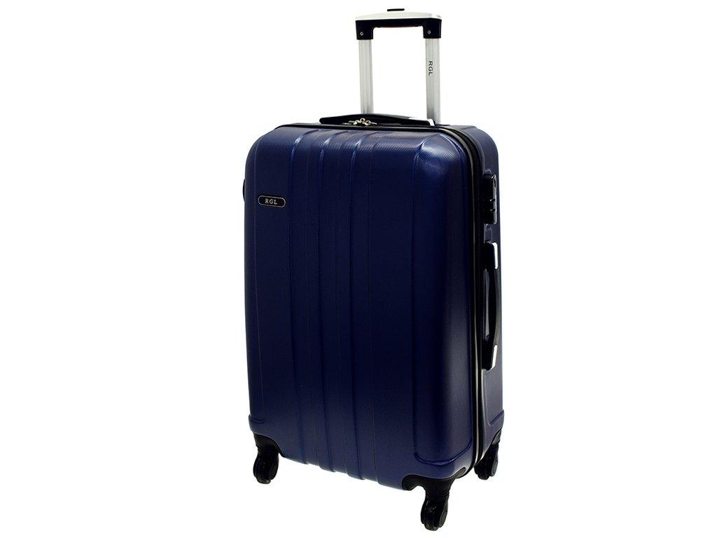 cestovni skorepinovy kufr na koleckach 740 3 tmave modry velky