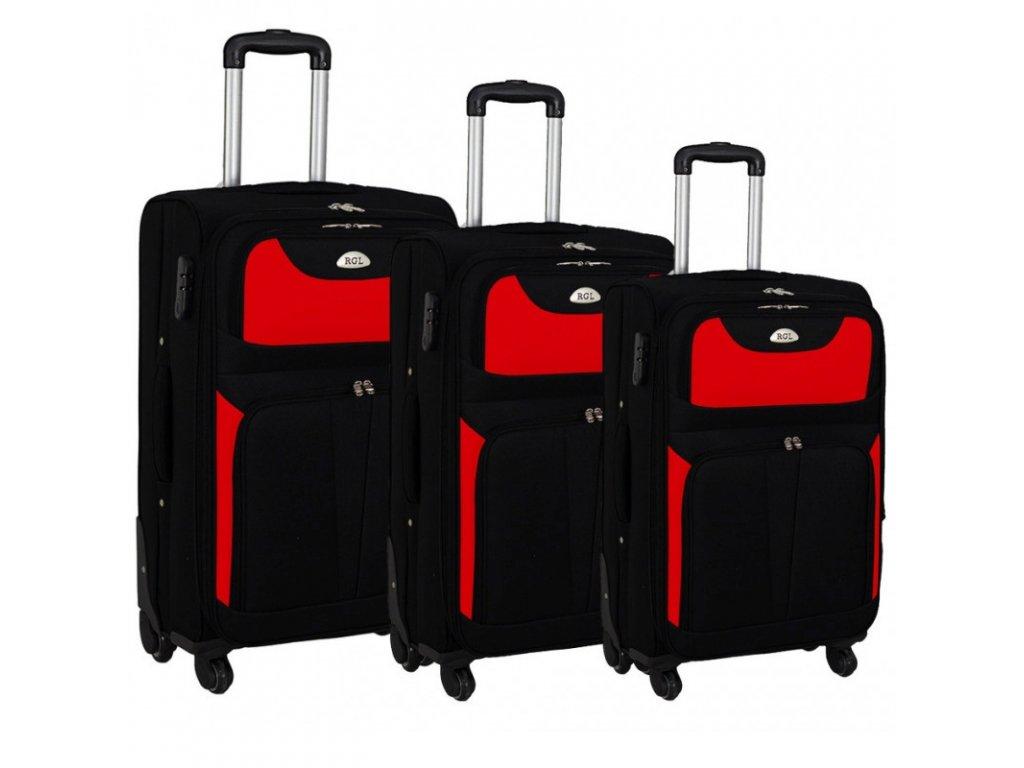 Kufr latkovy cestovni HC 010 sada červeny